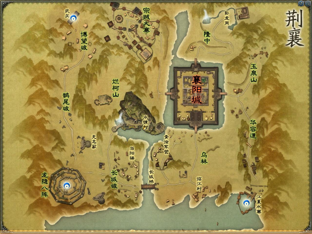 高清游戏地图素材