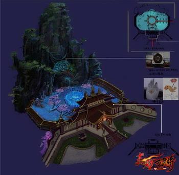 《赤壁·五虎将》甘露寺设计图披露