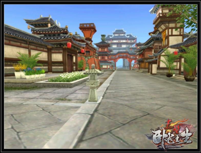 长安城墙上新增加了装饰和哨塔